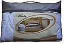 Наматрасник стеганый с бортами ранфорс 120х200+25 см  наматрасник на кровать, фото 4