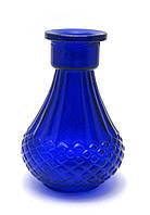 Колба для кальяна стекло (10х10х15 см)(P028)(внутренний d-3,5 см)