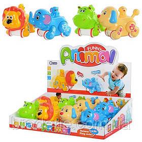 Заводная игрушка Животные Африки 4 вида Metr+ MW 222