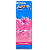 Детская зубная паста Crest Kids Fluoride Anticavity Toothpaste Bubblegum Rush 119гр