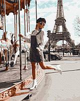 """Картина по номерах """"Гойдалки в Парижі"""" GX38218"""