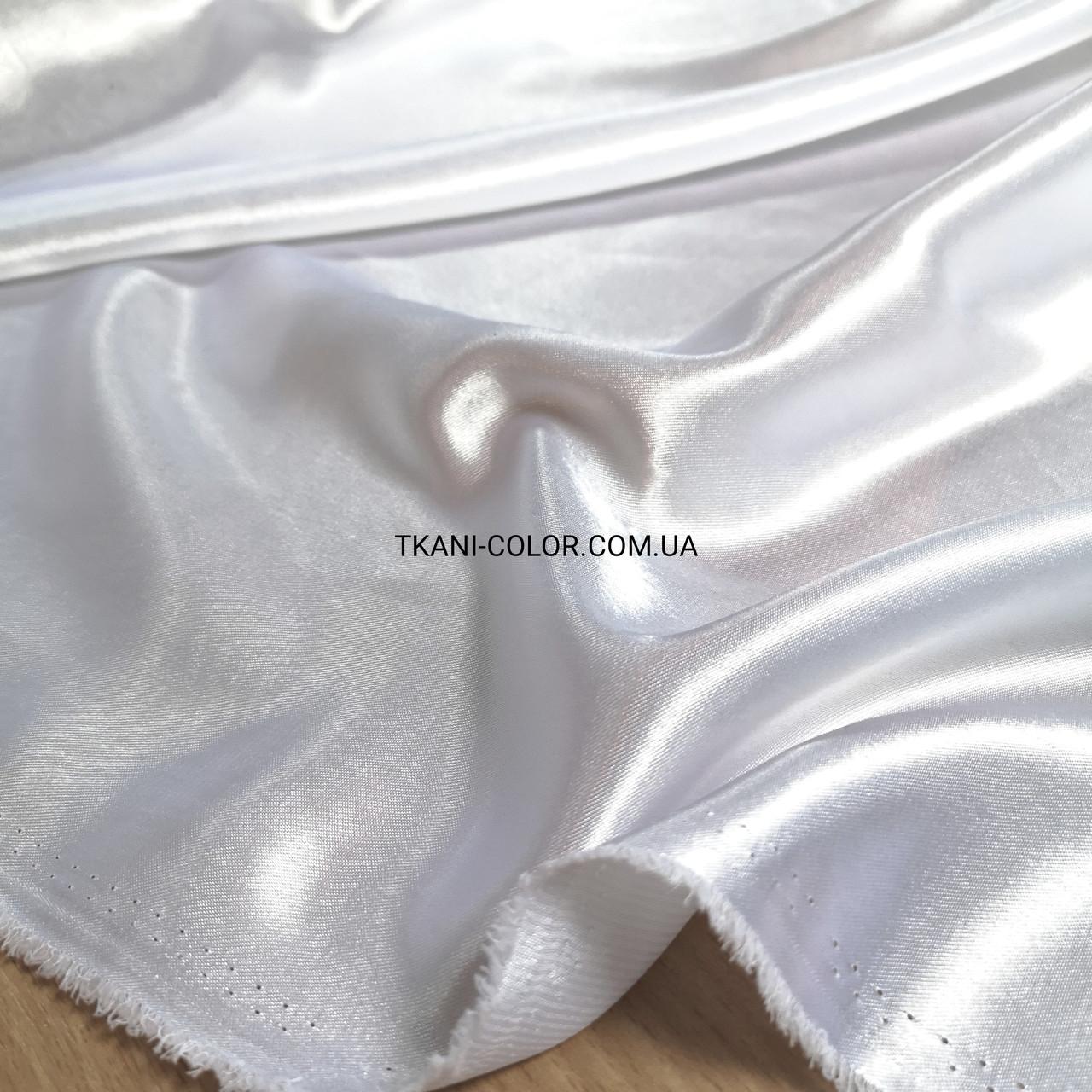 Ткань креп- сатин белый