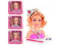 Кукла-голова для причесок и макияжа EI 80272-5 R s+s