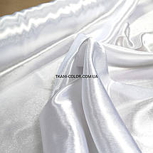 Ткань креп- сатин белый, фото 3