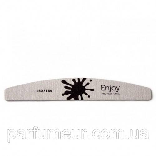 "EnJoy Professional Пилка для ногтей ""Half Moon"", форма ""луна"" 150/150"