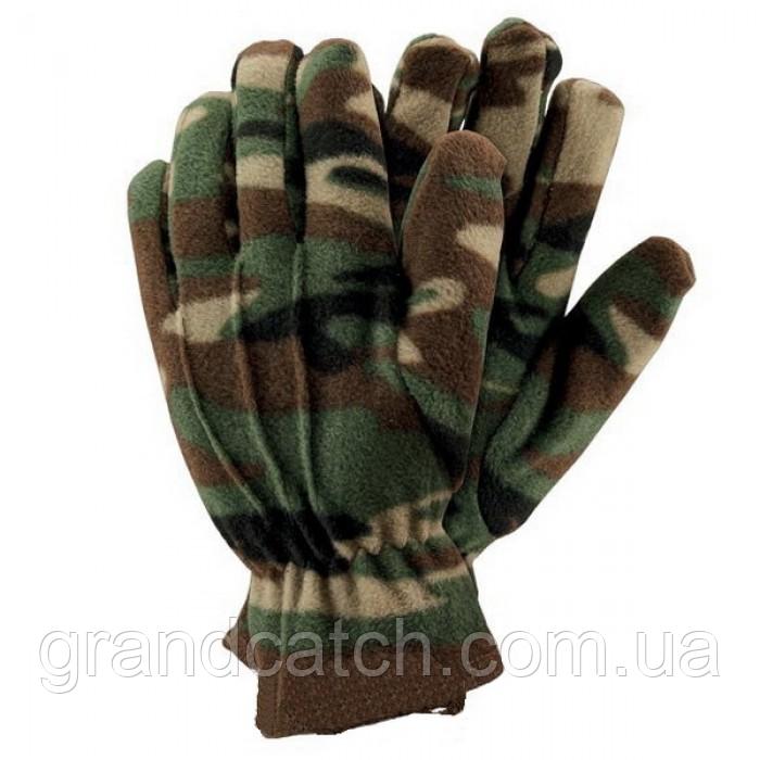 Флісові рукавички Камуфляж