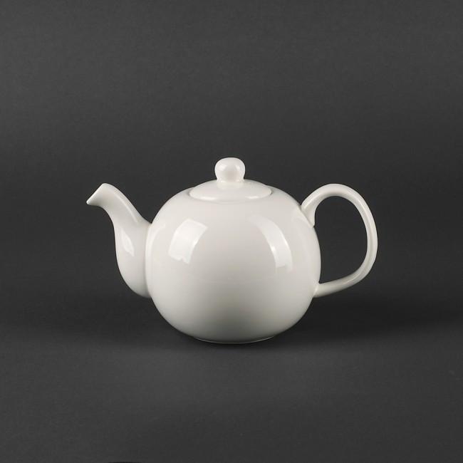 "Чайник с крышкой фарфоровый Helios ""Extra white"" 450 мл (A7063)"