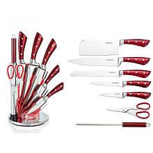Набор ножей на подставке Royalty Line RL-KSS810