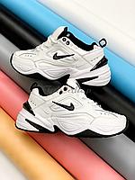 Женские кроссовки Nike Tekno M2K в стиле найк текно белые (Реплика ААА+)