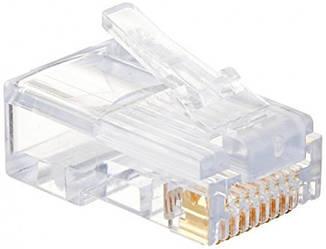 Коннектор RJ45 прозрачный A+ (1000шт)
