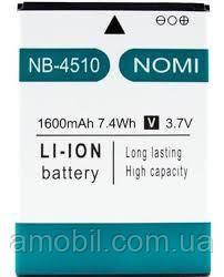 Аккумулятор Nomi i4510 Beat M NB-4510 (1600 mAh) orig