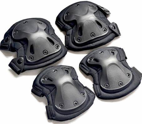 Защита наколенники налокотники штурмовые тактические набор Shell, фото 2