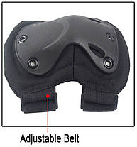 Защита наколенники налокотники штурмовые тактические набор Shell, фото 3