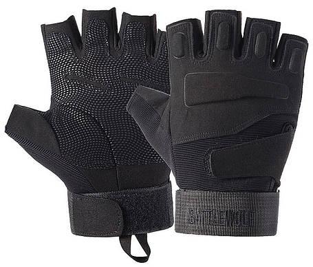 Перчатки без пальцев  штурмовые тактические Battlewolf, фото 2