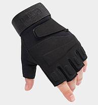 Перчатки без пальцев  штурмовые тактические Battlewolf, фото 3