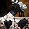 Перчатки без пальцев  штурмовые тактические Battlewolf, фото 6