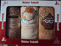 """Комплект кухонных полотенец  """"Ikizler"""" Турция"""