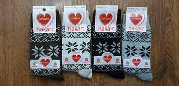 """Жіночі ангорові вовняні шкарпетки""""HAKAN"""" Туреччина 36-40"""