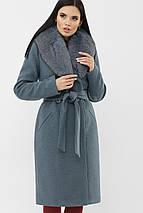 Пальто с шалевым воротником рр  44  46, фото 3