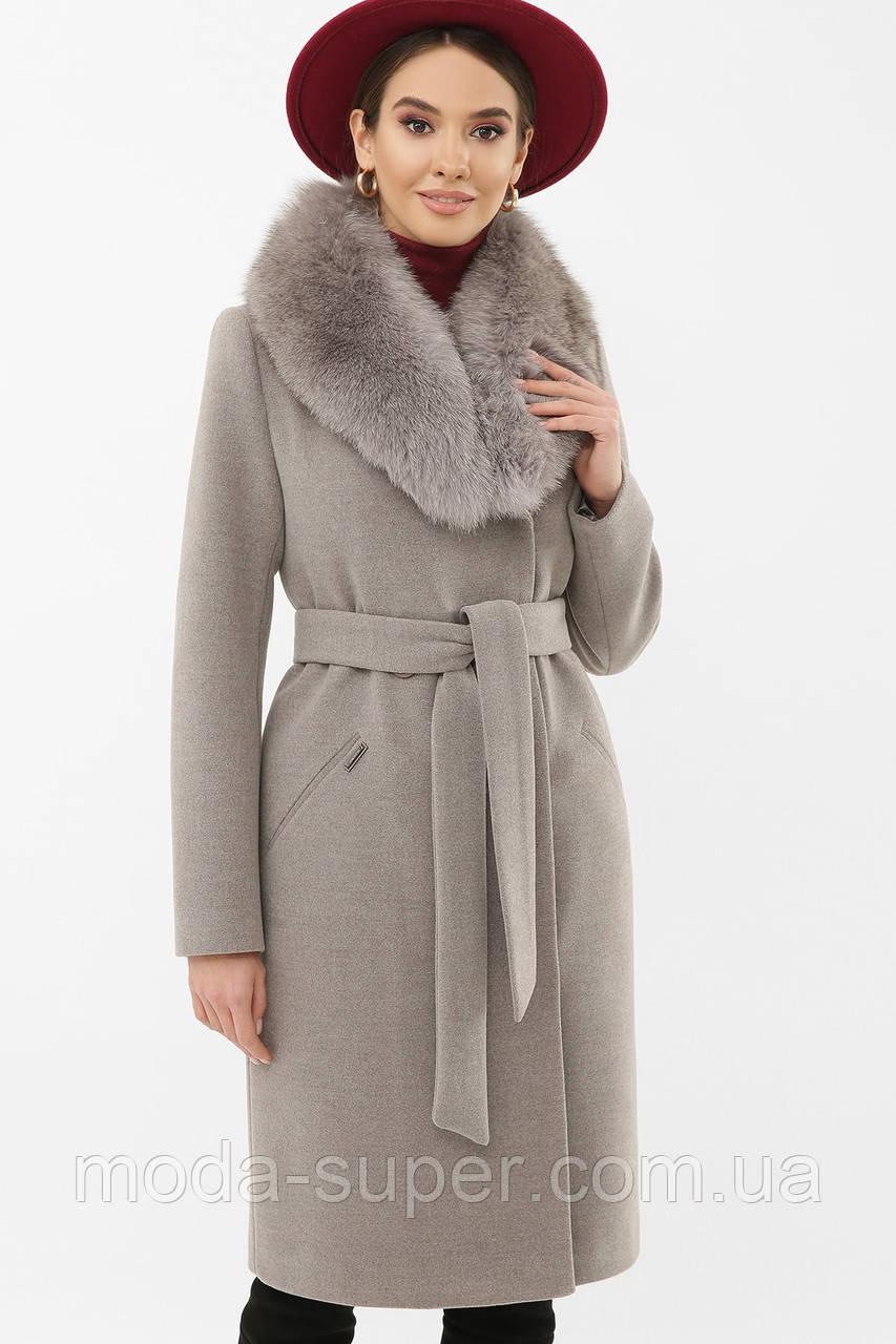 Пальто с шалевым воротником рр 42  44  46