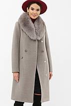 Пальто с шалевым воротником рр 42  44  46, фото 3