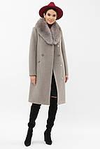 Пальто с шалевым воротником рр 42  44  46, фото 2