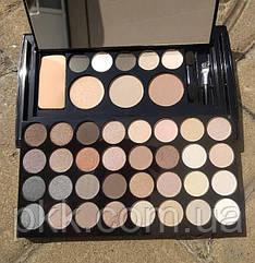 Палетка для макияжа Parisa Cosmetics PK-40 № 02 п натурально коричневый-серый микс
