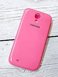 Чехол книжка для Samsung Galaxy S4 i9500 Flip Cover накладка бампер противоударный розовый, фото 2