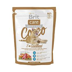 Корм Brit Care Cocco I am Gourmand Cat Брит Каре для вибагливих кішок 400 г
