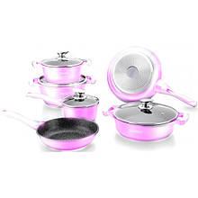 Набор посуды Royalty Line RL-BS1010M Pink