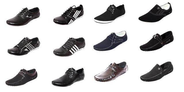 Мужская коллекция обуви. Товары и услуги компании