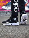 Женские черные кроссовки Adidas Torsion System, фото 8