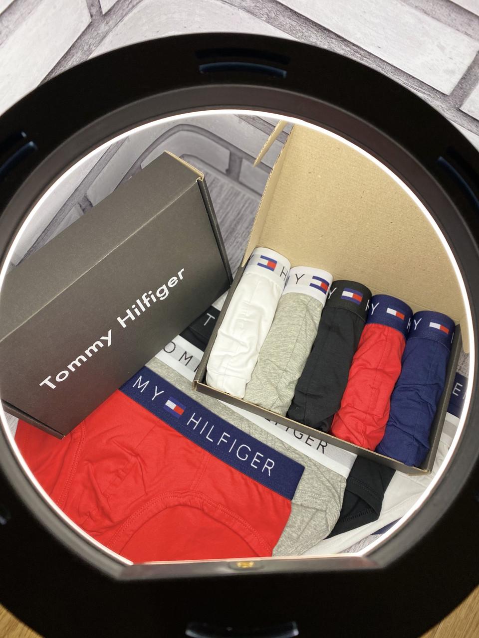 Набор брендовых мужских трусов Tommy Hilfiger брифы