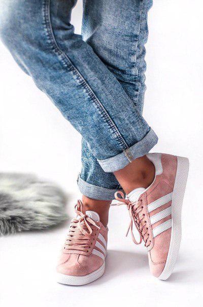 Жіночі замшеві кросівки Adidas Gazelle (три кольори)