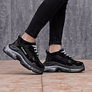 Женские кроссовки Balenciaga Triple S белые, черные, серые , фото 3