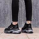 Женские кроссовки Balenciaga Triple S белые, черные, серые , фото 5