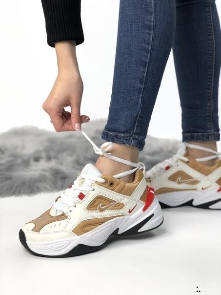 Кросівки жіночі M2K TEKNO з натуральної шкіри