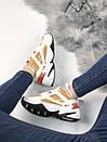 Кросівки жіночі M2K TEKNO з натуральної шкіри, фото 4