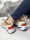 Кросівки жіночі M2K TEKNO з натуральної шкіри, фото 6