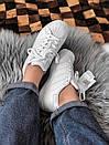 Жіночі білі кросівки Adidas Superstar із шкіри, фото 3