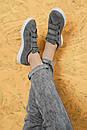 Женские кеды ADIDAS STAN SMITH на липучках из натуральной замши, фото 9