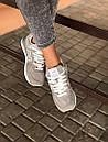Стильні замшеві кросівки New Balance 574 сірі, фото 5