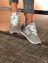 Стильні замшеві кросівки New Balance 574 сірі, фото 7