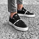 Черные мужские кроссовки к джинсам, фото 4