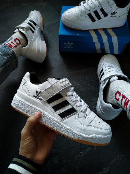 Білі кросівки Adidas, преміум якості