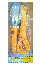 Лампа переносная 12Led, 10м, 220В, фото 3