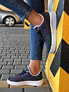 Жіночі шкіряні кросівки NIKE AIR FORCE з рефлективом, фото 3