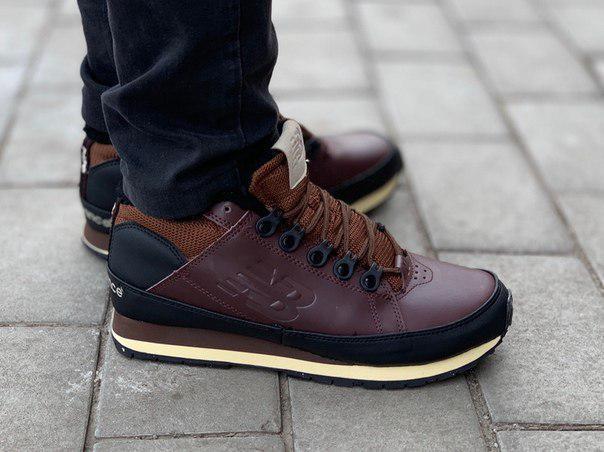 Мужские зимние кроссовки New Balance 754 Brown