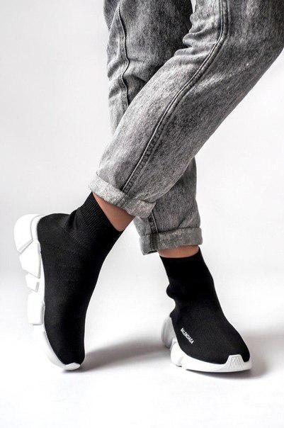 Жіночі текстильні кросівки Balenciaga speed trainer