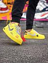 Жіночі жовті кросівки Air force, фото 3